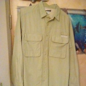 Exofficio  insect repellent hiking /fishing shirt